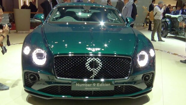 Bentley Continental GT Number 9 Edition, фото из youtube